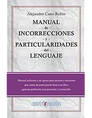 Manual de incorrecciones y particularidades del lenguaje