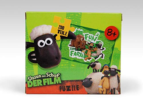 Shaun das Schaf Puzzle Fun on the Farm