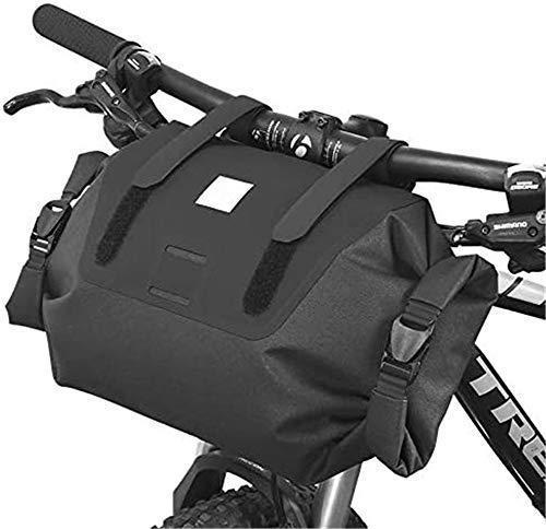 Sac de guidon de vélo ZOOENIE - Panier avant - Sac de glacière - Ultra léger - Résistant à la pluie