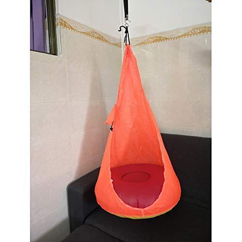 De Sensibiliteitstraining kinderen doek tas slingeren binnen en buiten voor kinderen hangstoel huishouden zaklamp cradle swing vouwen.