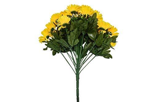 Herran Margarita Artificial Bouquet Decoración Decoración De Mesa Decoración Floral Decoración De Oficina Jardín Cocina…