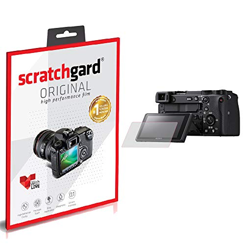 Scratchgard Anti-Bubble and Anti-Fingerprint Camera Screen Protector for Sony Alpha ILCE-A6600