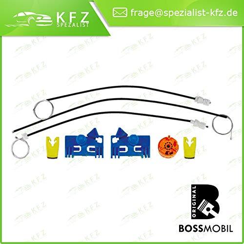 Bossmobil VEL SATIS, avanti sinistra, 4/5 porte, set riparazione per sollevatore di finestrino alzacristalli