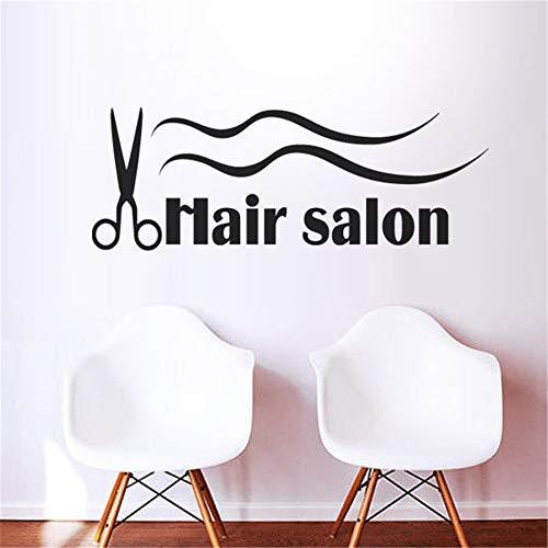 stickers muraux 3d stickers muraux chambre Salon de coiffure Coiffeurs Ciseaux Pour Barbier Coiffeur