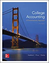 College Accounting (A Contemporary Approach) - Standalone book