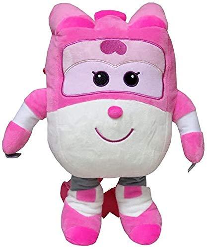 Super Wings Dizzy: Mochila de peluche  color rosa
