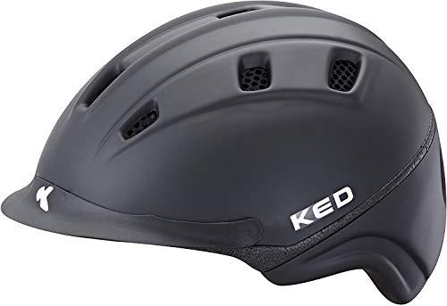 KED Helmsysteme Reithelm - Basco Anthracite Anthrazit M Gr. 54-58 cm