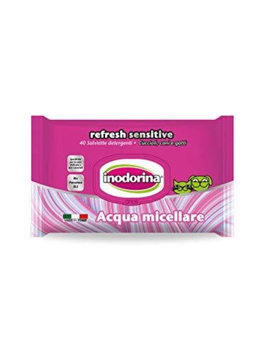Inodorina Toallitas Sensitive Agua Micelar 40 Unid