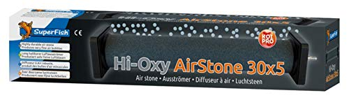 Super Fish Air Stone (Air Stone: Hi-Oxygen Koi Air Stone 30 x 5cm)
