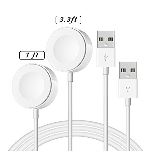 [ MFi Certified ] iWatch Charger, OPSO Magnetic Charging Cable Compatible with iWatch 38mm 40mm 42mm...