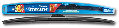 "Michelin 8026 Stealth Hybrid Windshield Wiper Blade with Smart Flex Design, 26"" (Pack of 1)"