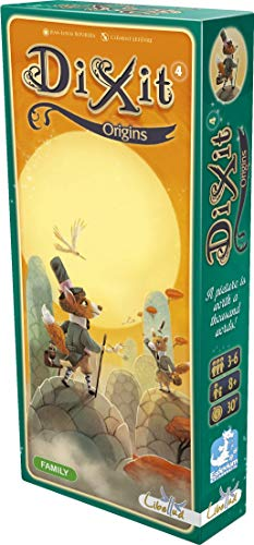 Dixit Origins Board Game EXPANSION | Storytelling Game for Kids and Adults | Fun Family Board Game | Creative Kids Game | Ages 8 and up | 3-6 Players | Average Playtime 30 Minutes | Made by Libellud