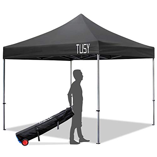 TUSY Instant Shelter 10' x 10' Pop-Up Canopy Tent,...