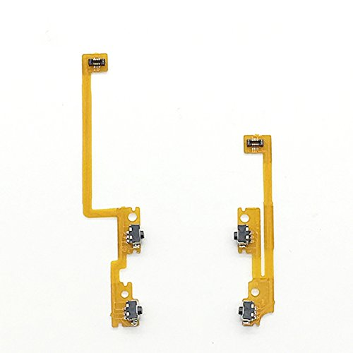 Replacement Shoulder Trigger Button Left Right Flex Cable L/R ZL / ZR Flex Cable Ribbon Cable for Nintendo NEW 3DS LL / XL Repair L/R Switch Button