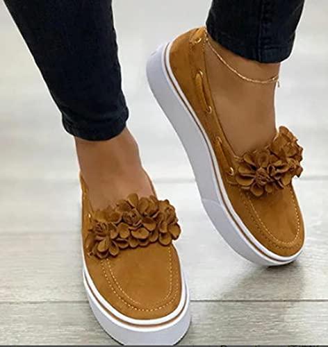 Zapatos De Plataforma para Mujer Casual De Moda para Mujer Zapatos De Lona De Senderismo,B,38