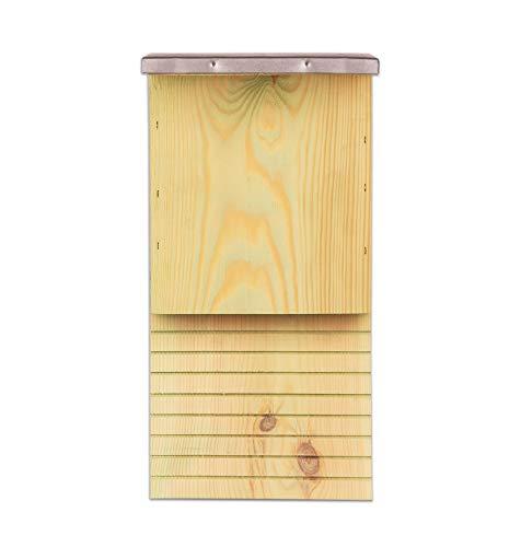 BigDean Fledermauskasten Fledermaushaus für Fledermäuse Fledermaus Unterschlupf Nistkasten Haus