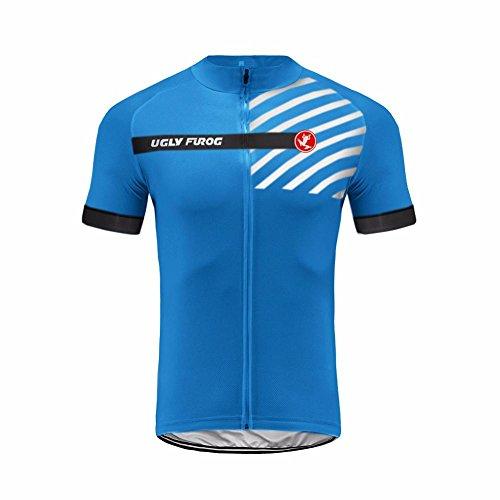 Uglyfrog Verano Hombre Cycling Jersey Maillot Ciclismo Mangas Cortas Camiseta de Ciclistas Ropa Ciclismo ESHSJ26