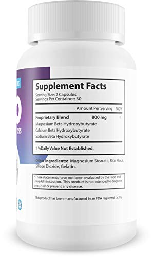 Best Exogenous Ketones - Keto Salts - Advanced Weight Loss - Help to Induce Quicker ketosis - Sodium Beta Hydroxybutrate - Burn Fat in Ketosis and Reach The Ultra Apex Keto Pinnacle of Fat Burn - BHB 5