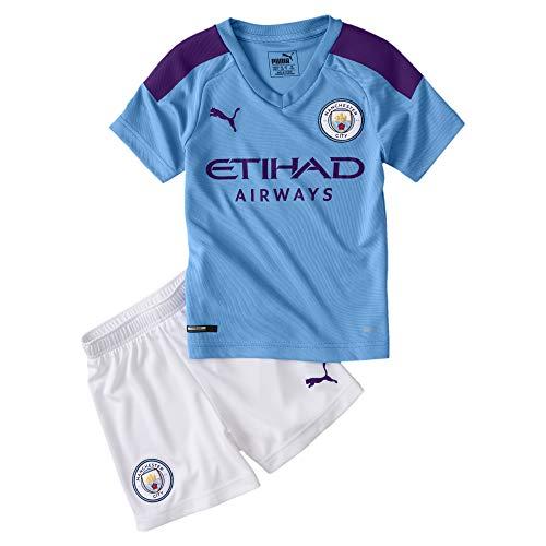 PUMA Manchester City Kids Home Kit 2019/20-4-5 Years