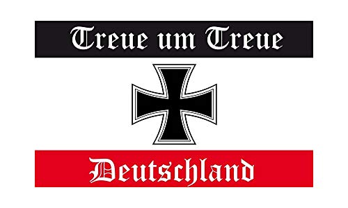 DH 47 - Deutschland Flagge - Treue um Treue Fahne 90 x 150cm