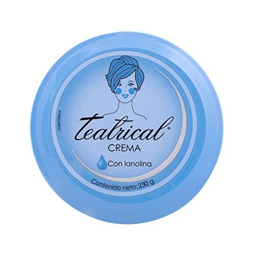 Teatrical Crema para Dama con Lanolina, color Azul, 230 g