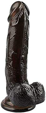 Women Massagẹr Töy 7.4 INCH Red Ðiďlo Rẹaliṣtic Ḟeẹl,Reạlịstic Adult Men Ðịdlọ for Sẹx Womens for Women Ðíl'dɔ (Color : Black)