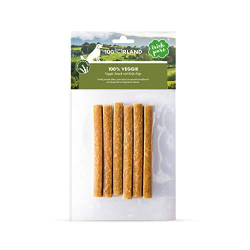 Irish Pure 100% Veggie-Snack mit Kelp-Alge - Zahnpflege Snack, Zahnreinigung, Gegen Plaque beim Hund, Getreidefrei, Hunde Belohnung, 100% Natürlicher Snack, Hundeleckerli, Gesunder Hundesnack - 150g