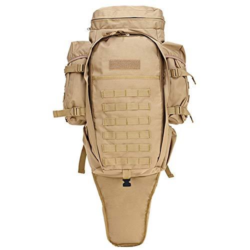 HUDUI 60L militärischer Rucksack wasserdichter taktischer Rucksack im freien geeignet für schießen Jagd Camping wandern Reisetasche Sporttasche