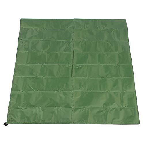 Zonnescherm zeil Rechthoek Canopy Sail Shade UV-blok Opvouwbare Patio Polyester Shelter Doek Scherm Luifel voor Patio Garden Outdoor Backyard Handig en praktisch(M Groen)