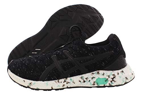 ASICS Women's HyperGEL-KENZEN Running Shoes, 8M, Black/Opal Green/White