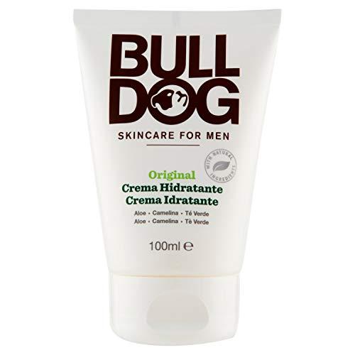 BULLDOG SECURITY Cuidado Facial Para Hombres - Crema Hidratante Original, Blanco, 100 Ml