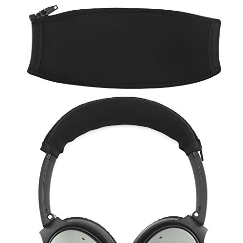 Geekria Headphone Headband Cover Replacement for Bose QC35 II, QC25 Headphones/Headband Protector/Replacement Bose QuietComfort Headband Cover Cushion Pad Repair Part/Easy DIY Installation