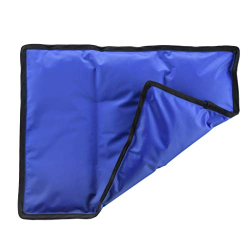 """Gel Cold & Hot Pack - 11x14.5"""" Reusable Warm or Ice Pack for Injuries, Hip, Shoulder, Knee, Back Pain - Hot & Cold Compress for Swelling, Bruises, Surgery - Heat & Cold Therapy"""