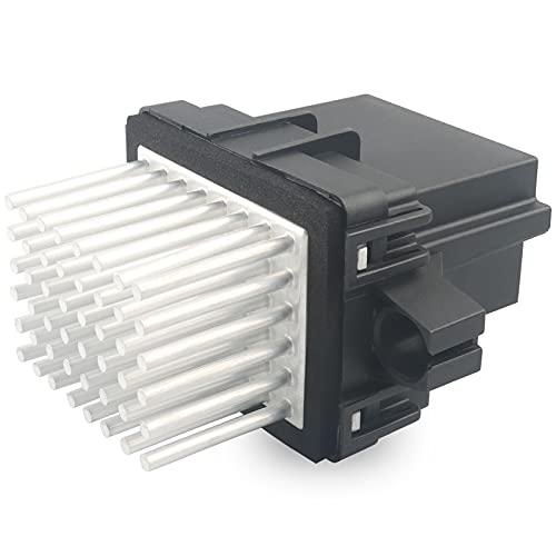 HVAC Blower Motor Resistor Control Module, Replace 15-81638, 15141283 Compatible with Buick Cadillac Chevy GMC - 2007-2013 Silverado Sierra Suburban 1500, 2007-2017 Equinox Tahoe Acadia Yukon, More