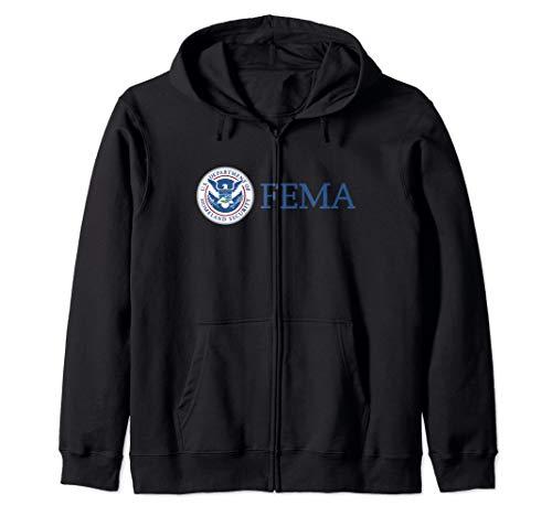 Federal Emergency Management Agency FEMA Zip Hoodie