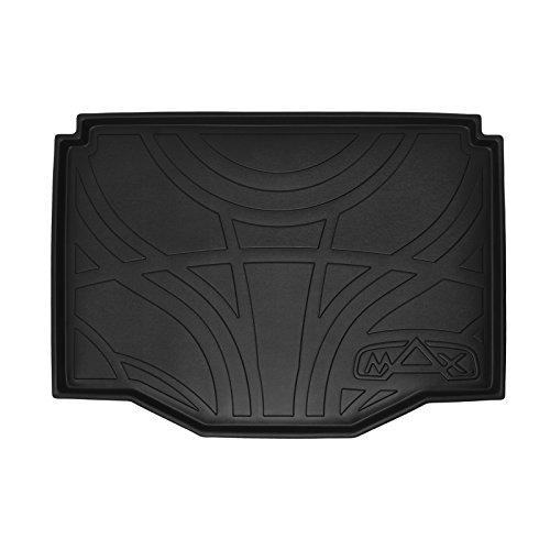 SMARTLINER All Weather Custom Fit Cargo Trunk Liner Floor Mat Black for 2013-2019 Buick Encore / 2014-2019 Chevrolet Trax