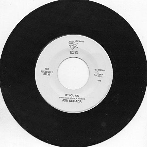 Jon Secada 45 RPM If You Go / Si Te Vas (Spanish Version)