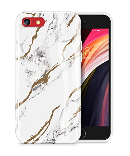 GVIEWIN iPhone 7 Slim Thin Marble Case