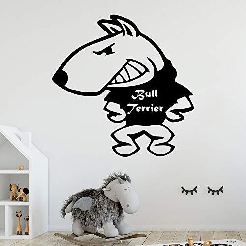 Hetingyue Hot Dog Gebruikergedefinieerde namen vinyl zelfklevende waterdichte muurkunst kaart kinderkamer decoratie