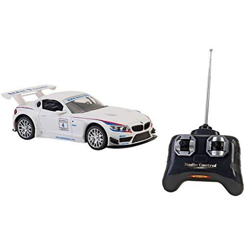 Spidko- Auto RC BMW Z4 7 Funzioni con Luci Scala 1:24, 37799