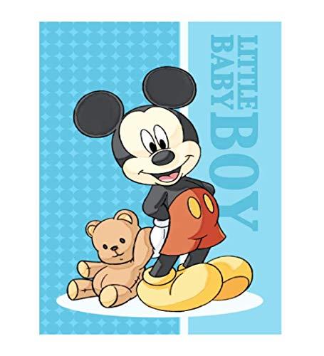 Theonoi Toalla de mano para niños, toalla de invitados, toalla para la cara, de algodón, Mickey y Disney, regalo ideal para niñas y niños (Mickey 01)