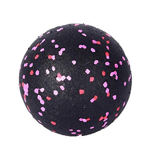 geshiglobal Fitness Faszienball Fußmassagegerät zur Muskelentspannung, 8 cm Durchmesser, Schwarz / Grün
