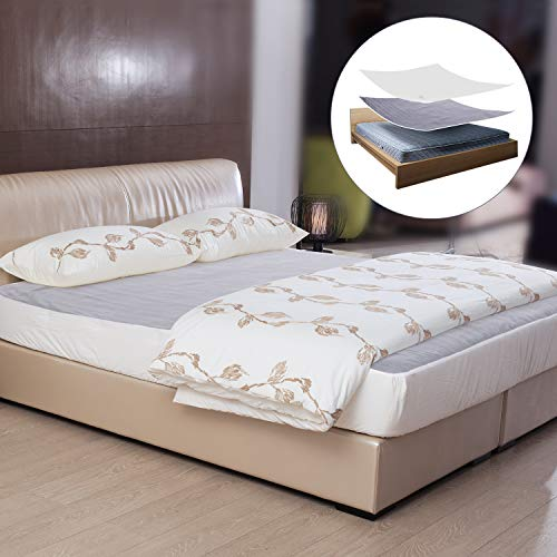 Heated Mattress Pad Underblanket Dual Controller for 2 Users Soft Flannel 10 Heating Levels & 9 Timer Settings Fast Heating, Queen