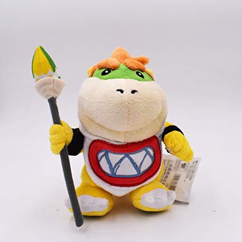 xuritaotao 17 cm Bowser Koopa Jr Weiche Gefüllte Plüsch Puppe Baby Spielzeug Kinder