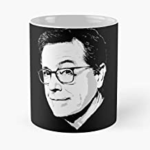 Stephen Colbert Portrait The Late Show 11 Oz Coffee Mugs Best Gift For Father Day