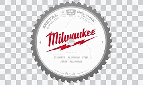 Milwaukee 45242134465 - Hoja de sierra circular para metal, color gris