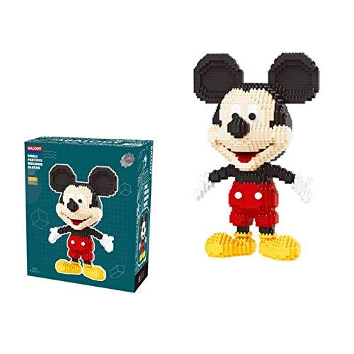 N-B Disney1831pcs+ Mickey Mouse Diamond Blocks Mirco3 D Model Mouse Classic Cartoon Mini Building Bricks Figuresfor Bricks Toys