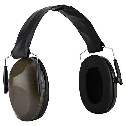 VBESTLIFE Gehörschutz,Schießen Ohrenschützer,Antinoise Sport Jagd Gehörschutz Aktive Ohrenschützer für Lärmpegel bis 30 dB für Shooter, Jäger und Arbeiter (Army Green)