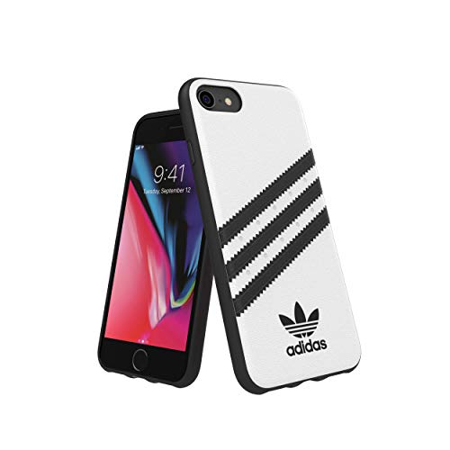 Adidas Originals Moulded Case Samba - Custodia per iPhone 8/7/6S/6, colore: Bianco