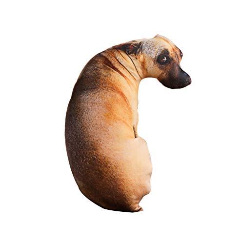 Toyvian - Almohada para perro con diseño de simulación 3D, 50 cm